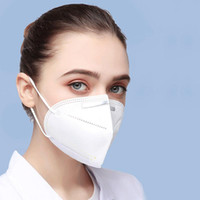 KN95 PM2.5 A prueba de polvo Anti-polvo 95% Máscara de filtro transpirable Cómodo Metal Mascaras Mascaras de metal al aire libre FFP2 Características de protección