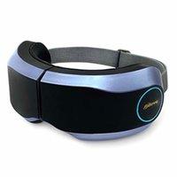 Eye Massager Protezione cura termale con riscaldamento pressione d'aria di musica di Bluetooth di vibrazione ricaricabile pieghevole Eye terapia visiva per massaggi