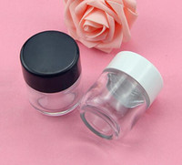 2oz glass jar 60g airtight glass vial with child proof cap d...