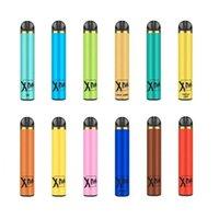 1500 Puffs Vorgefüllte 5,0 Ml-Patrone Puff Xtra Xtra Einweg-Gerät Pod Kit Batterie VAPE leerer Stift gegen Bar Air plus Flow Glühen elektronische Ecig