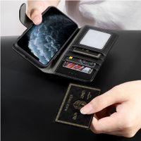 Telefon Kılıfı Deri Cüzdan Durumda Manyetik 2in1 Kapak Kılıfları iphone 11 Pro XS Max 7 8 artı XS XR SE2020