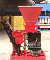 2020 أعلى بيع الهيدروليكي الطين الطوب صنع آلة شبه التلقائي كتلة الأسمنت آلة صغيرة الطين التعشيق كتلة آلة الطوب
