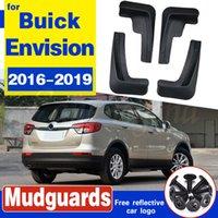 Set Moulé voiture boue Rabats pour Buick Envision 2016-2019 2018 Bavettes garde-boue BOUE Garde-boue arrière garde-boue avant Styling