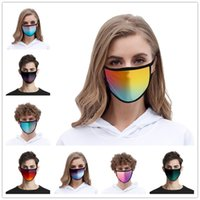 Color Gradient Mask 24 Colors Face Masks Dustproof Fashion P...