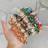 Boutique Diamant Frauen Stirnbänder Art und Weise Kristall Mädchen Haarstöcke Weinlesefrauenstirnband Haarzusätze für Frauen Stirnbänder