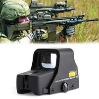 Areyourshop Tactical Голографическое зрение Оружие оружия Красная Зеленая точка 551