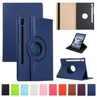 360 dreh leichter Schlag PU-Leder-Kasten für iPad 7 8 10.2 Samsung Tab S6 Lite P610 T307 S7 Plus-T870 T970 A7 T500 Huawei Matepad 10.4 Pro 10.8 T8
