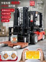 Technic серии 13106 Автопогрузчик MOC RC Motors Автомобильные наборы Строительные блоки Кирпичи App управления RC Автомобили Детские игрушки Рождественский подарок