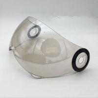 B-110 110B Motosiklet Kaskı Visor Ayna PC Malzeme Anti-UV Motocross için Marka beon Açık Yüz Kask Lens siperliği