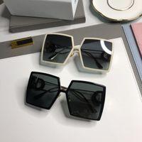 Hediye BOX Erkek Bayan UV400 Üst Kalite Moda Yaz Plaj Güneş Kadın Overszie Gözlüğü Güneş Gözlüğü
