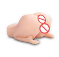 Grand cul masturbateur masculin, poupée sexuelle en silicone solide 3D avec des jouets sexuels adultes pour adultes pour hommes