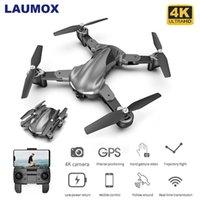 Laumox G15 무인 항공기 GPS 4K HD 카메라 전이 간식 고도 홀드 RC Foldable Quadcopter 나를 팔로우하세요 15 분 Dron SG907 E520S