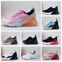 Nike Air Max 270 الهواء Nike Air Max 270 27sc0 الاطفال 2018 جديد الاحذية الرضع تشغيل الأحذية أحذية الأطفال الرياضية في الهواء الطلق luxry تنس huaraches المدربين كيد أحذية رياضية