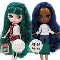 30cm muñeca conveniente para el vestido para arriba por el mismo DIY regalos Cambio de BJD del juguete de Navidad para los niños de chicas