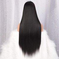2020 style populaire Perruques Lace Front Cheveux courts droit naturel brésilien Frontal perruque Full HD Pre plumé bon marché pour les femmes noires