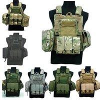 Sganciabile armatura portante del piatto della maglia maglia tattica di combattimento pesante Molle di abbigliamento outdoor caccia