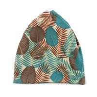 Шапочки / черепные колпачки Foxmother Мода Многофункциональная Джерси Листья Turban Chemo Hee Warmer Шапочки Шляпы Дамы Женщины Gorros