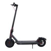 Dos ruedas plegables scooter eléctrico a prueba de golpes 8,5 pulgadas Motor 250W Motor 25km / h Velocidad 30km Max Mileage UE Plug para viaje