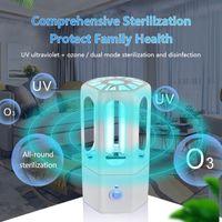 5V USB Rechargeable Car Household Sterilization Lamp Portable Ultraviolet Ozone Bulb 3.8W UV Germicidal Light Disinfection Lamp