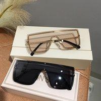 MS 2020 Yeni Büyük Boy Güneş Unisex Bayan UV400 Yetişkin Trend Kadınlar Moda Güneş gözlükleri için Shades gözlük