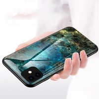 قذيفة الزجاج المقسى للحصول على حالة iPhone11 XS ماكس XR لiPhoneX 7 8 زائد حالة الهاتف المحمول
