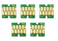5 مجموعات / لوط، 5 ألوان، مجموعة، وترقية T6941-T6945 خرطوشة الحبر رقاقة لإبسون SureColor T3000 T3070 T3200 T5200 T7200 T3270 T5270 T7270 الطابعة