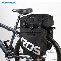 ROSWHEEL 37L duradero resistente al agua trasera para bicicleta Pannier de ciclo de carga Bolsa MX200717