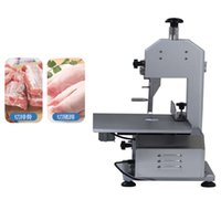 High speed stainless steel electric meat and bone sawing machine commercial household meat cutting band saw blade