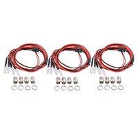 Scheinwerfer für 1/5 1/8 1/10 1/12 1/16 RC Auto-LKW-12 LED-Licht Kit DIY Accs