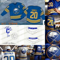 9 Jack Eichel Buffalo Sabres 2020 21 Torna alla Royal Blue Jersey Victor Olofsson Zach Bogosian Jeff Skinner Rasmus Ristolaine Kyle Okposo