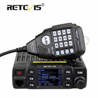 Walkie Talkie Retevis RT95 Mobile Car Diferente Estação de Rádio Dual Band VHF UHF Amador Presunto Transceptor + MIC