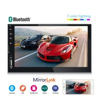 7 Inches Screen Display MP5 Multimedia Player Steering wheel control Hand-free Call Radio function car dvd