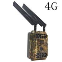 Caméra de chasse Caméra 4G Traps photo GSM MMS GPRS Wild 16MP HD 940NM IR Caméscope de scoutisme imperméable