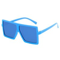 2021 Moda Kids Designer Sunglasses 7 Cores Design Simples Design Big Painel Estilo Bonito Menino And Girl Eyewear