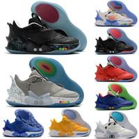 Yeni 2020 Yüksek Kalite Erkek Rahat Moda Spor Spor Ayakkabılar 40-46 İçin BB 2.0 Yüksek Siyah Beyaz Kırmızı Spor Basketbol Ayakkabı Uyum Arrive