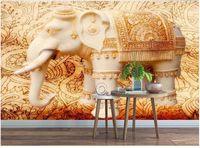 duvarlara 3 d oda duvar kağıdı canlı duvar Beyaz mermer fil taş desen arka plan ev dekorasyonu üzerinde özel 3d fotoğraf kağıdı duvar