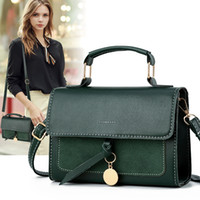Taschen Frühling Neue Mini Tasche Frauen Tasche 2020 Neue Modedesigner Handtaschen Schulter / Crossbody Mode Einfache Quadratische Schlinge