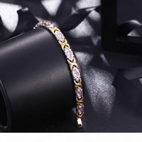 K Designer Jewelry Bracelets For Women Titanium Steel Magnet Bracelets Simple Wholesale Hot Fashion Free Of Shipping