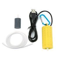 مضخات الجملة الترا صامت المحمولة USB البسيطة حوض السمك تصفية الصيد خزان الأوكسجين الهواء مضخة الهواء اكسسوارات