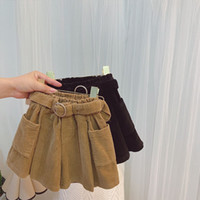 New INS Summer Autumn Kids corduroy shorts New Arrival Girls...