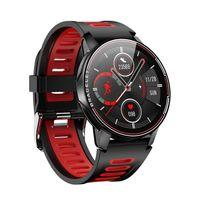 2020 L6 Akıllı İzle Erkekler Kadınlar IP68 Su Geçirmez Bluetooth 4.0 HD Yuvarlak Kalp Hızı Kan Basıncı Monitör Kardiyo Bilezik VS L3 L5 10 adet DHL