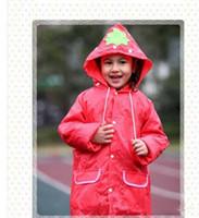 ليندا مضحك معطف المطر أطفال الأطفال معطف واق من المطر ملابس ضد المطر راينسويت الاطفال للماء الحيوان معطف واق من المطر 5 اللون HOT