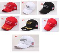 التطريز جعل أميركا العظمى مرة أخرى هات دونالد ترامب القبعات MAGA ترامب دعم قبعات البيسبول قبعات البيسبول الرياضة