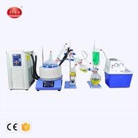 ZZKD Laboratório de laboratório 5L Kit de destilação de Caminho curto com resfriamento de resfriamento 5L / -10 ° C e bomba de vácuo para extração de evaporação CBD, 110V / 220V