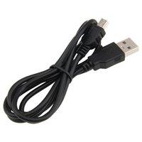 1M USB 2.0 tipo A macho a Mini 5P cable del cargador de datos USB para mp3 mp4 de la cámara del GPS de 5 pines T-Port DHL FEDEX V3 cable EMS LIBERAN EL ENVÍO