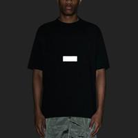 셔츠 t 2020 새로운 디자이너 캐주얼 패션 티를 가슴 아시아 크기 하이 스트리트 성능 최고에 편지 인쇄와 반사 효과를 망
