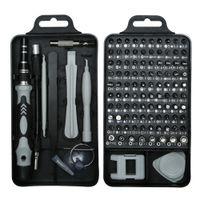 Mini set di cacciaviti 115 in 1 Perfetto per riparazioni telefoniche, riparazione di orologi, hobby e altro strumento di riparazione auto per iPhone