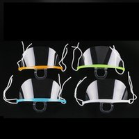 Ağız Spit Muhafız Teşkilatı Cook Garson / Garson Bar mascarilla De PLASTICO için Restoran Otel Şeffaf Plastik Yüz Maske Kullanılan Maskesi