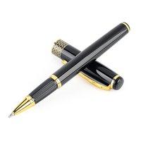 Kugelschreiber Metall Business Stift Hohe Qualität Schwarzes Gold für Schulbüro Schreiben Geschenk Schreibwaren
