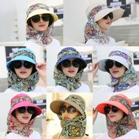 2020 New Women Detachable Shawl Empty Top Sun Visor Hat Fold...